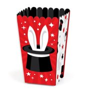Ta-Da, Magic Show - Magical Birthday Party Favor Popcorn Treat Boxes - Set of 12