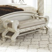 Signature Design by Ashley Cassimore 54 in. Backless Upholstered Bedroom Bench