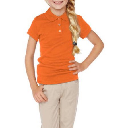 George Girls 39 School Uniforms Short Sleeve Polo Shirt