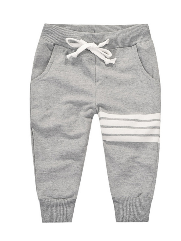 JLONG Spring Autumn Kid's Casual Sports Long Pants