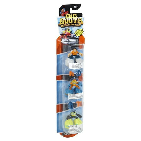 Matchbox Big Boots 3 Pack - Water Rescue Crew