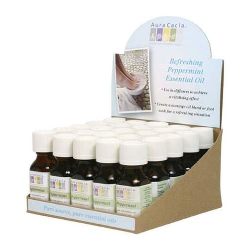 25 PC PEPPERMINT CNTR DISPLAY -