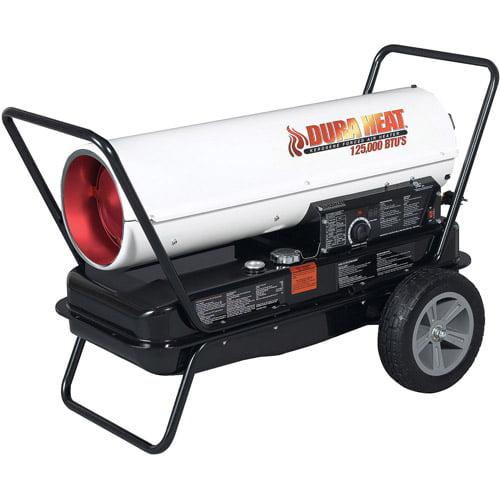 Duraheat World Marketing 125,000-BTU Portable Forced Air Kerosene Heater, DFA135C
