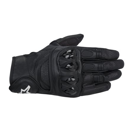 - Alpinestars Celer Leather Motorcycle Gloves Black