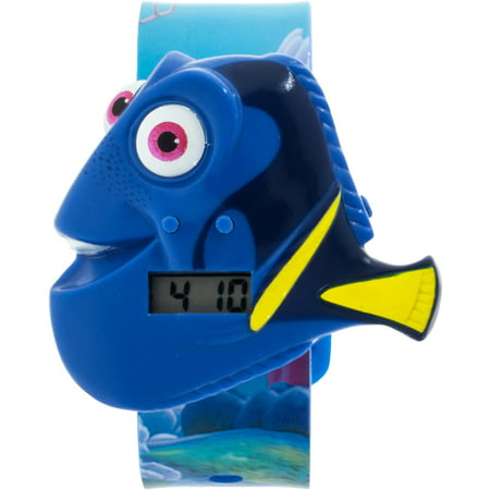 Disney Finding Dory Girls Molded Sound Lcd Watch