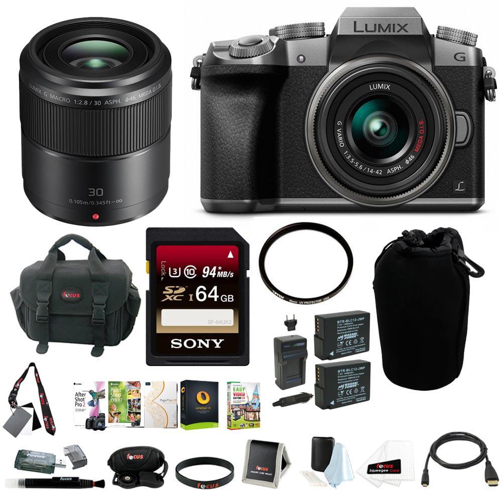 Promo Harga Panasonic Lumix Dmc G7 Kit 14 42mm Silver Kamera Gx85 12 32mm Black Hitam Mirrorless Digital Camera W F 35 56