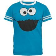 Sesame Street - Cookie Monster Ringer T-Shirt