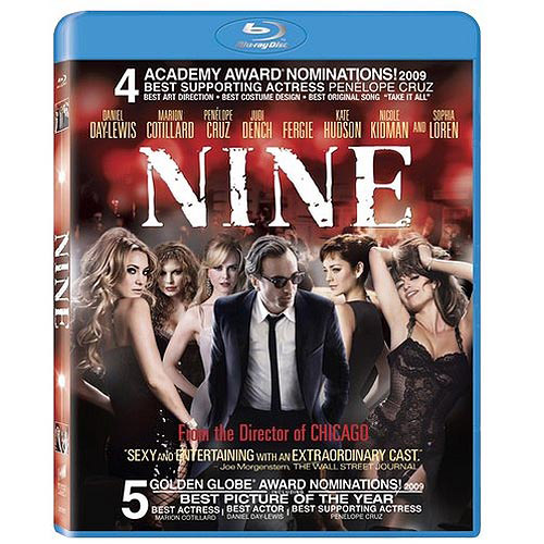 Nine (2009) (Blu-ray) (With BD-Live) (Widescreen)