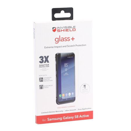 ZAGG Tempered Glass+ Screen Protector for Samsung Galaxy S8