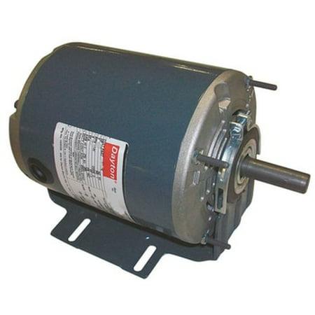 1/3 hp 1725 RPM 115/208-230V Belt Drive Hi-Temp Split-Phase Motor Dayton # 4VAG1