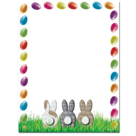 Easter Paper (Bunny Butts Easter Letterhead Laser & Inkjet Printer)
