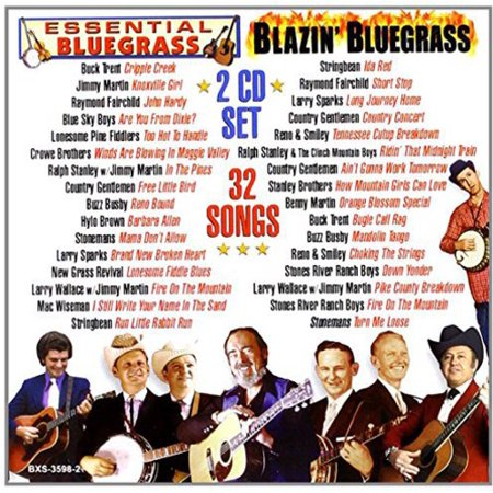 32 Songs: Essential & Blazin Bluegrass / Various (Essential Songs Series)