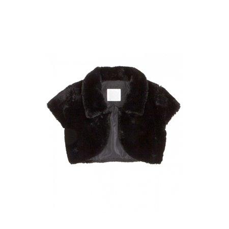 Justice Girls Faux Fur Bolero Jacket 610 5 - Little Kids (4-7) - image 1 of 1