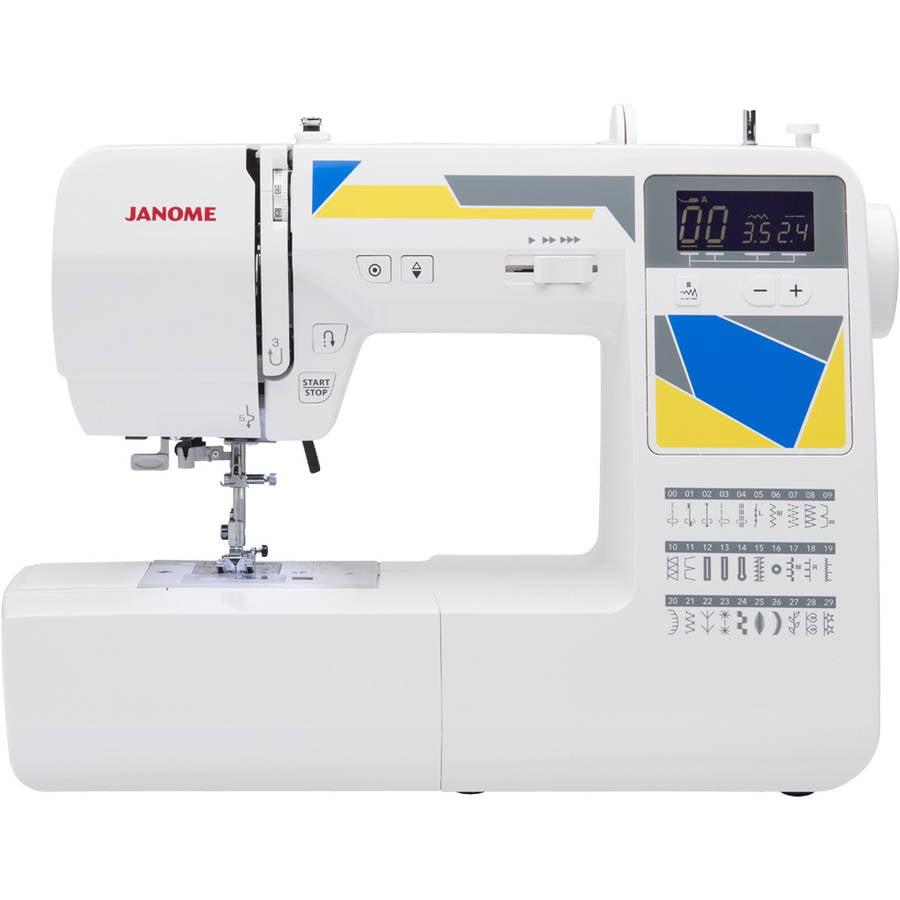 Janome MOD-30 30-Stitch Computerized Sewing Machine