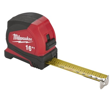 Heavy Duty Tape Measure (TAPE MEASURE COMPACT 16FT)