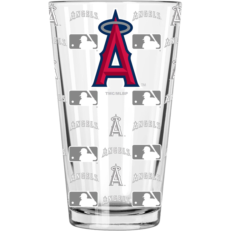 Los Angeles Angels 16oz. Sandblasted Mixing Glass - No Size