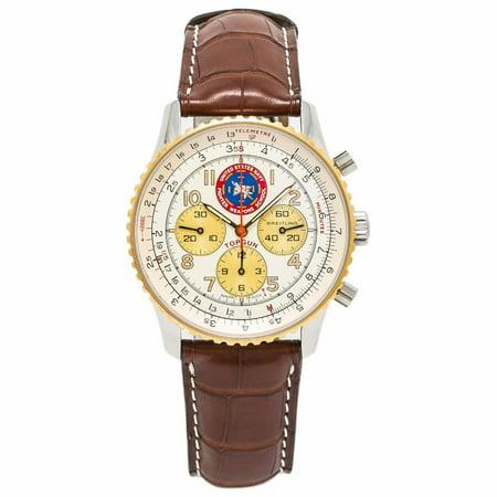 Pre-Owned Breitling Navitimer D30022 Steel  Watch (Certified Authentic & Warranty) Breitling Navitimer Slide Rule