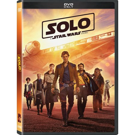 Solo: A Star Wars Story (DVD) (Curvy Movie Stars)