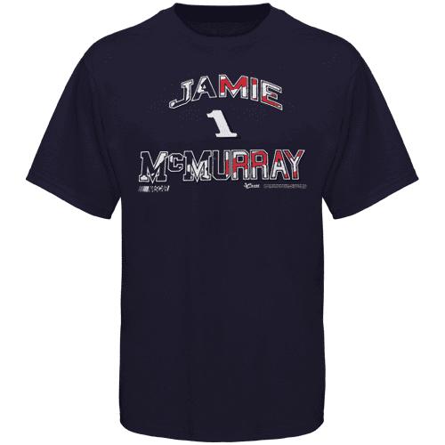 Jamie McMurray Americana T-Shirt - Navy Blue