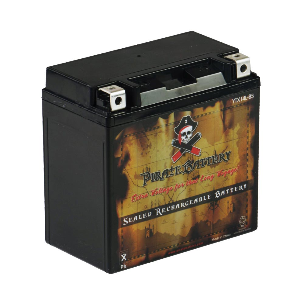 YTX14L-BS Motorcycle Battery for Harley-Davidson 1200cc XL XLH Sportster 2005