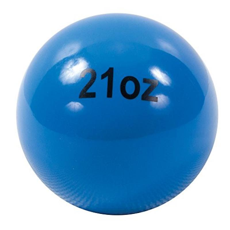 Power Systems Power Throw-Ball Softball Medicine Ball (Blue, 21-Ounce)
