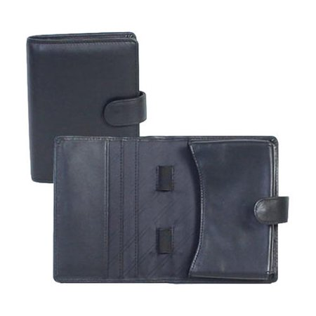 Scully PDA Case Soft Plonge 79 Black OSFA (Black Pda Case)