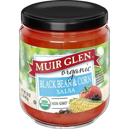 - (2 Pack) Muir Glen Organic Medium Black Bean and Corn Salsa, 16 oz