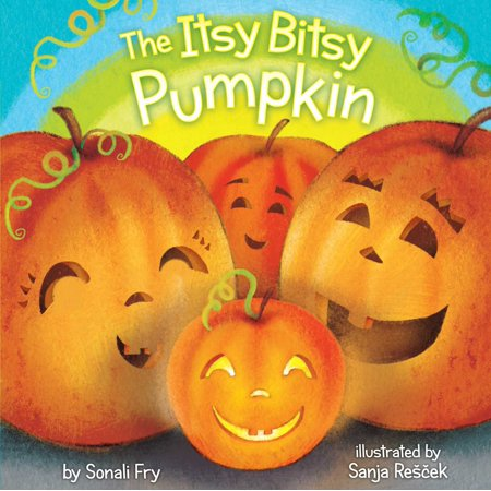 Itsy Bitsy Pumpkin (Board Book) - Halloween Pumpkin Recipes