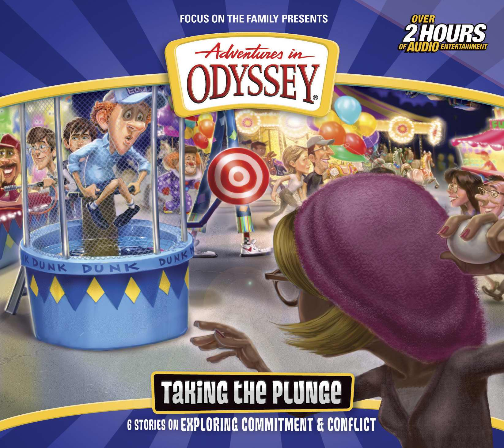 Audio CD-Adventures In Odyssey V59: Taking The Plunge (2 CD) by FOCUS ON THE FAMILY