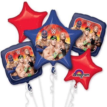 Wwe Balloons (WWE Foil Balloon Bouquet)