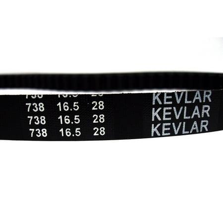 V-Belt CVT Drive Belt KEVLAR 738-16 5-28 fits Yamaha Zuma 50