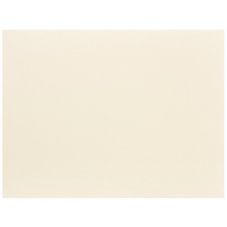 Ivory Flat Card - JAM Paper Flat Note Cards, 4 1/4 x 5 1/2, Ivory, 500/box