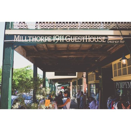 LAMINATED POSTER Millthorpe Shopping Markets Australia Stores Poster Print 24 x (Shops For Sale In Australia)