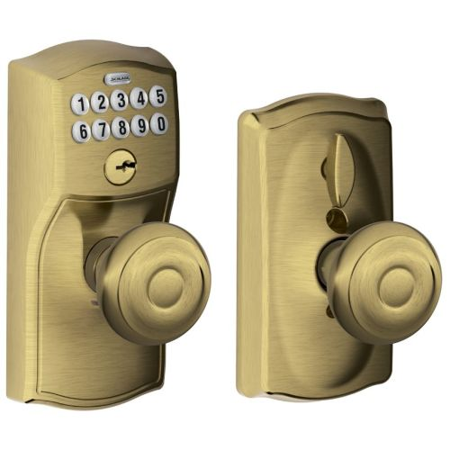 Schlage Fe595 Cam Geo Camelot Keypad Entry With Flex Lock