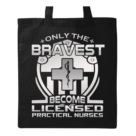 Licensed Practical Nurse Appreciation Gift Tote Bag Black One Size](Nurse Tote)