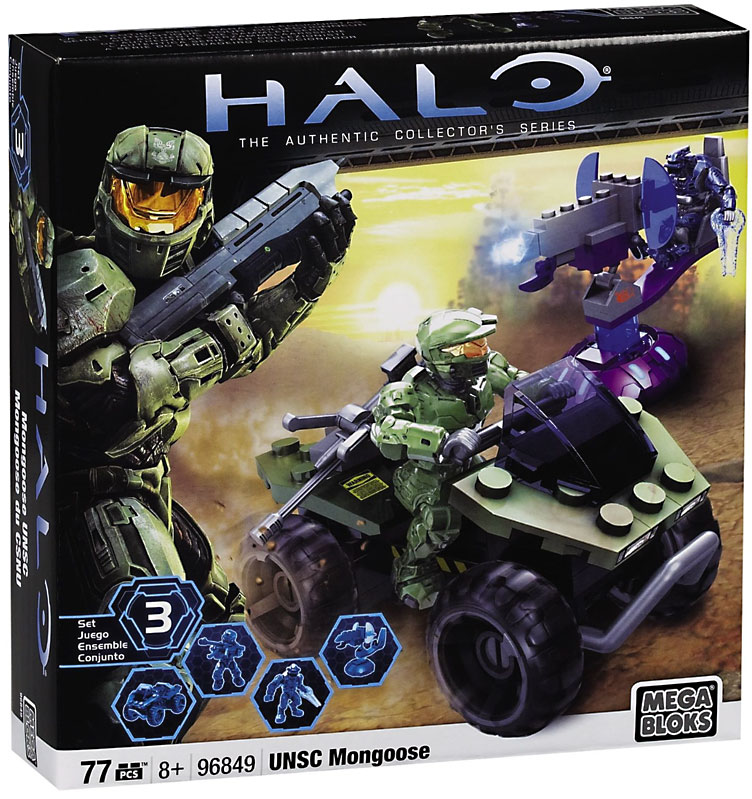 Halo UNSC Mongoose Set Mega Bloks 96849 by Mega Brands