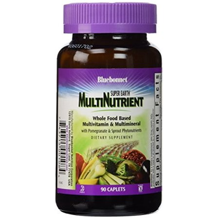 Bluebonnet Super Earth Multinutrient Formula, With Iron, 90 Ct