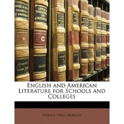 English and American Literature for Schools and Colleges
