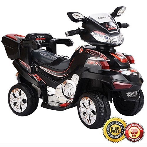 New MTN-G 4 Wheel Kids Ride On Motorcycle 6V Battery Powered R C Electric Toy Bicyle by MTN Gearsmith