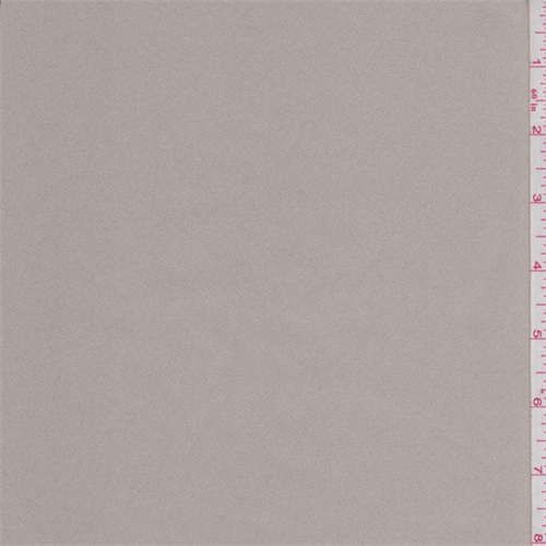 Light Stone Crepe Back Satin, Fabric By the Yard