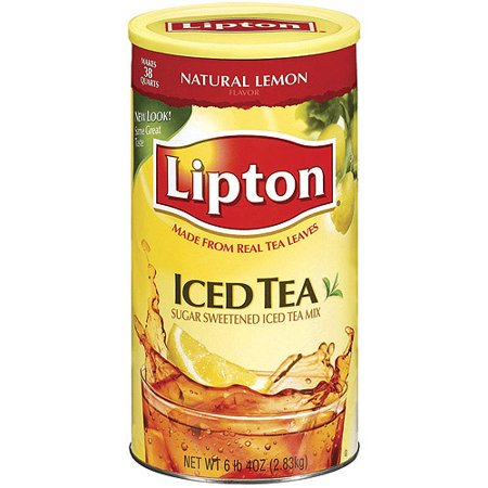 Lipton Drink Mix, Iced Tea, 100 Oz, 1 Count