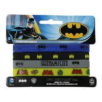 Wristband - DC Comics - Batman 4 Mini Set New Toys Gifts rwb-dc-0010-s