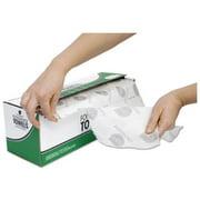 Nice-Pak G125DA Dry Foodservice Towel, 1-ply, 15 X 7 1/2, White, 200/roll, 4 Roll/carton
