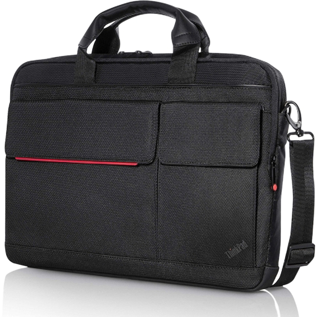 Lenovo PROFESSIONAL Carrying Case (Briefcase) for 15.6' Notebook, File, Document, Magazine, Pen, Power Adapter, Accessor