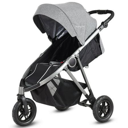 Portable Folding Aluminum Baby Stroller Buggy Kids Travel Pushchair City