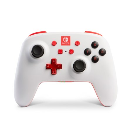 PowerA Enhanced Wireless Controller for Nintendo Switch - White