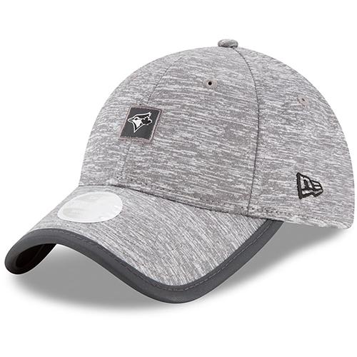 Toronto Blue Jays New Era Women's Trimflect 9TWENTY Adjustable Hat - Gray - OSFA
