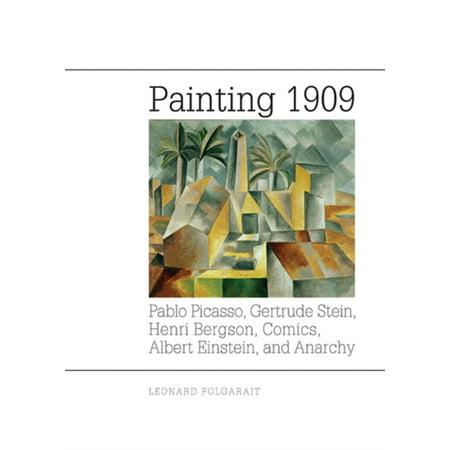 Painting 1909  Pablo Picasso  Gertrude Stein  Henri Bergson  Comics  Albert Einstein  And Anarchy