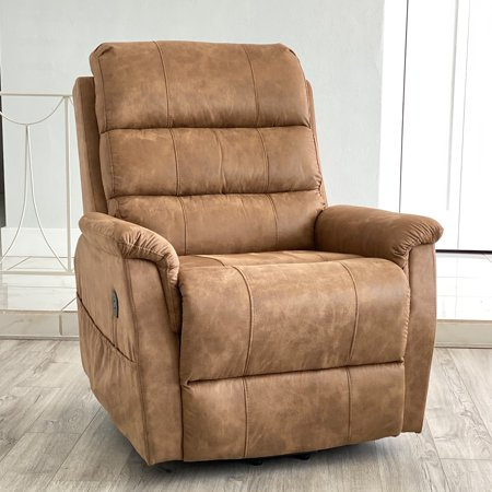 Lifesmart Metal Power Lift Recliner Chair with Remote