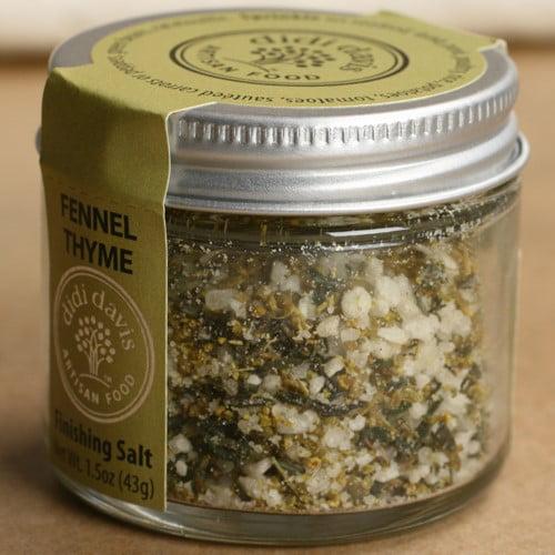 Fennel Thyme Finishing Salt